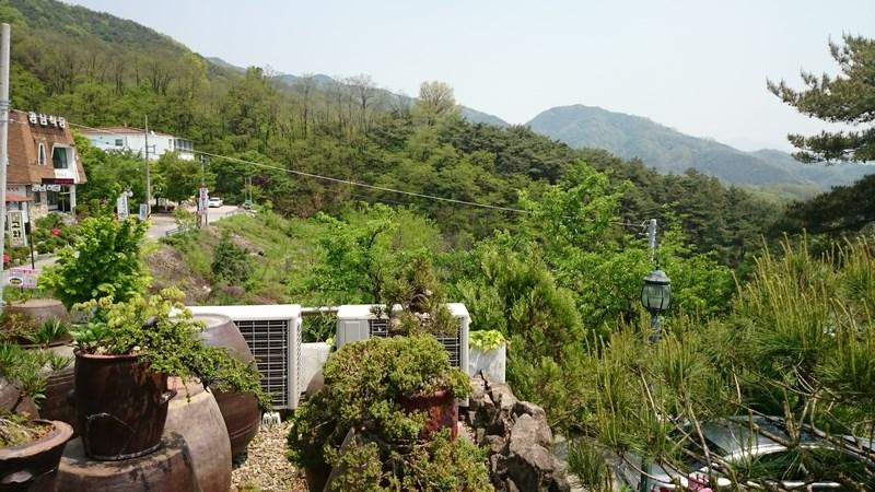 hauteurs de Daegu