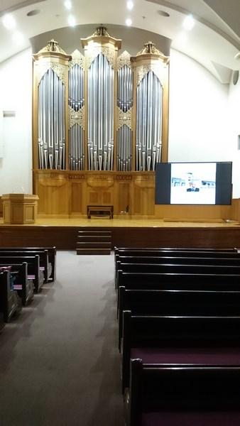orgues de Karl Schuke de 1999 de l'université Keimyung de Daegu