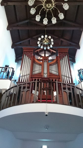 Orgue de la Cathédrale de Séoul . organiste titulaire M. Gabriel Inhyung Cho