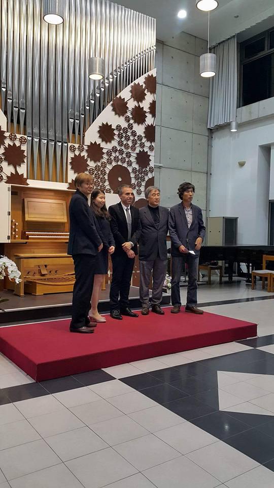 lors de mon concert à l'université Seongkonghoe de Séoul