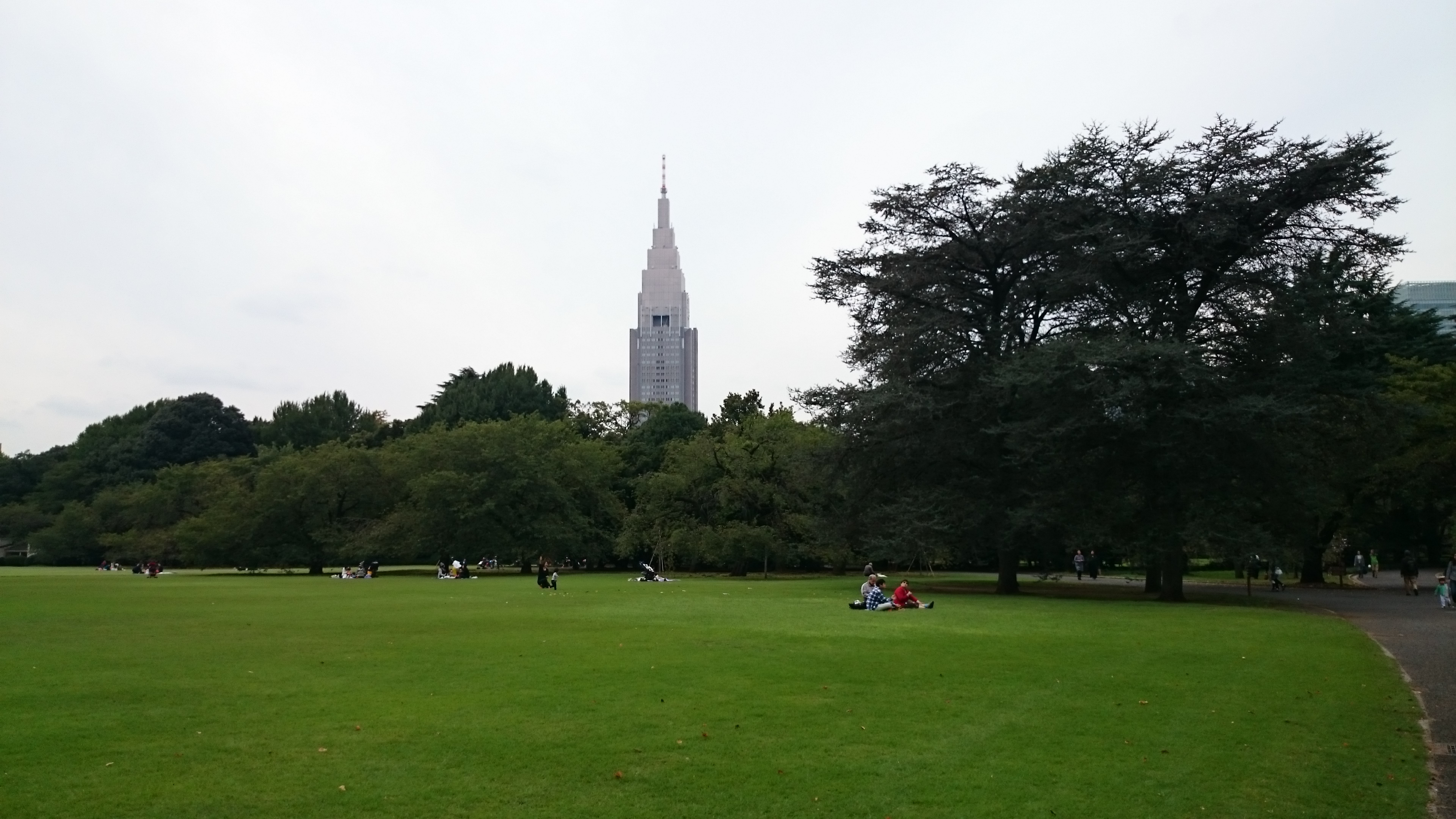 parc de Shinjuku, Tokyo
