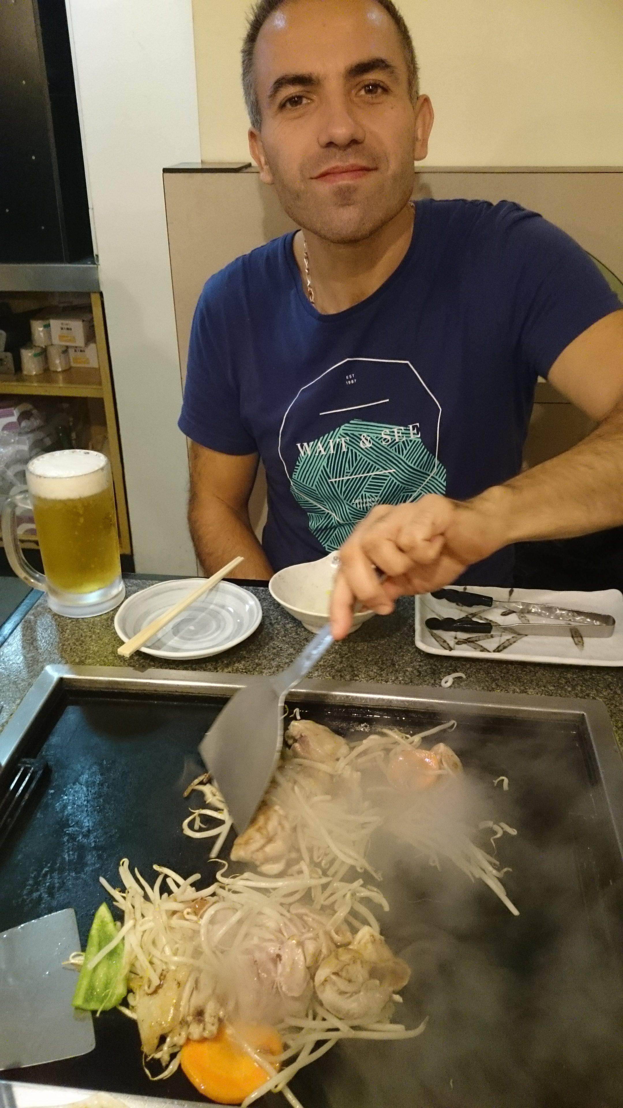 Repas à Shibuya, Tokyo, Japon