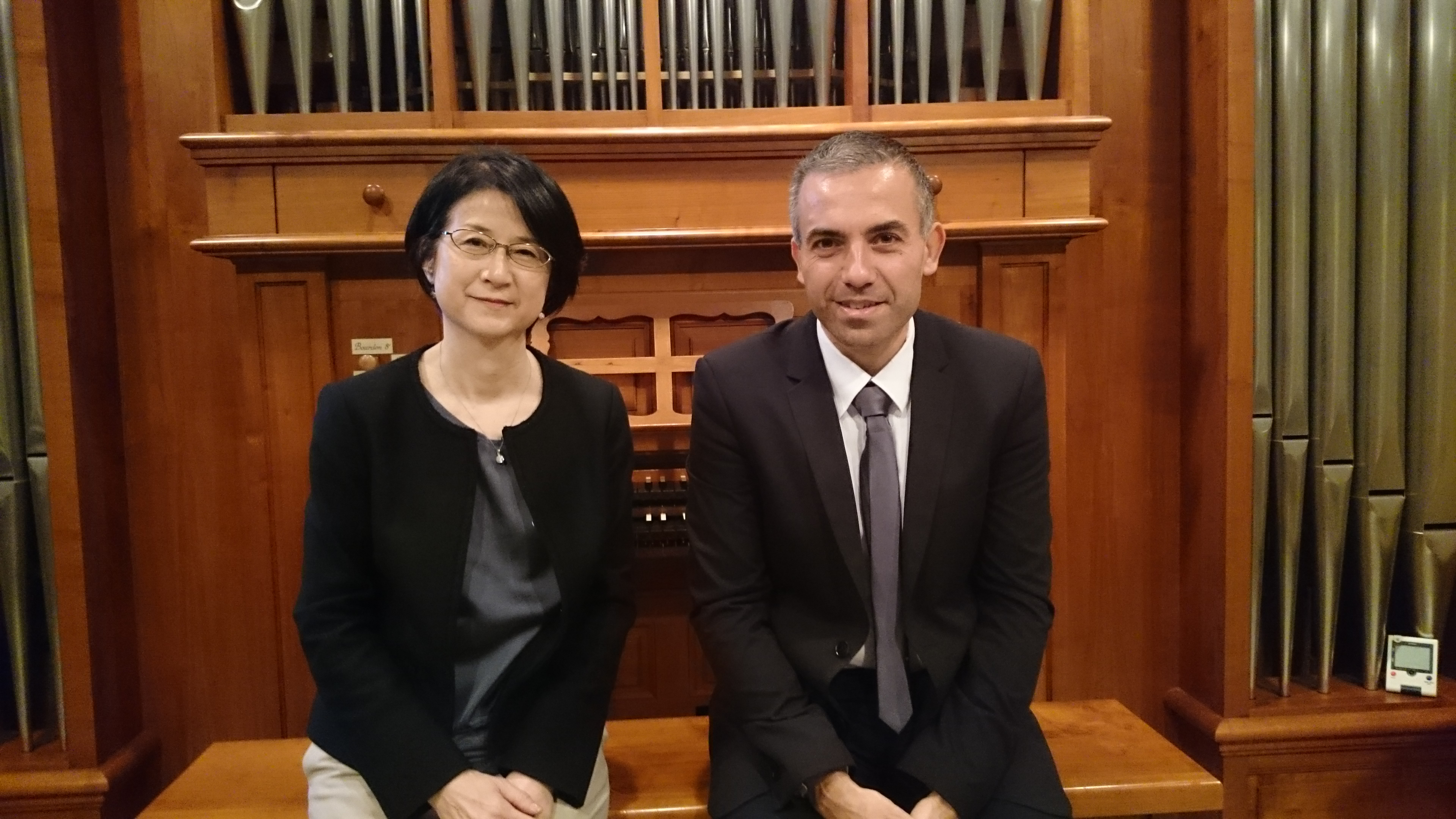 Mariko Nakagawa et Willy Ippolito, église de Sakuradai, Tokyo, Japon