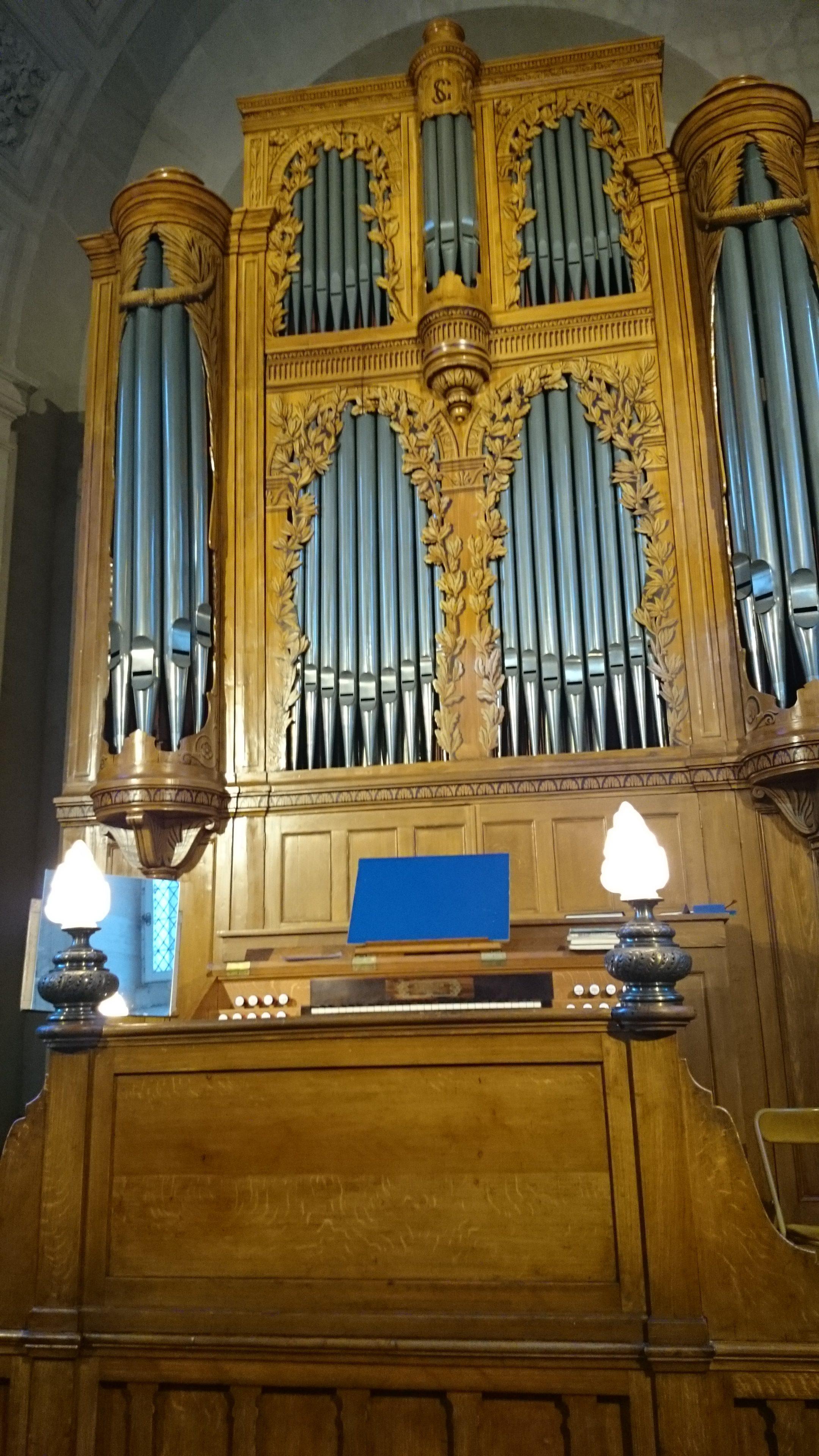 Orgue Cavaillé-Coll de l'église du Val de Grâce à Paris