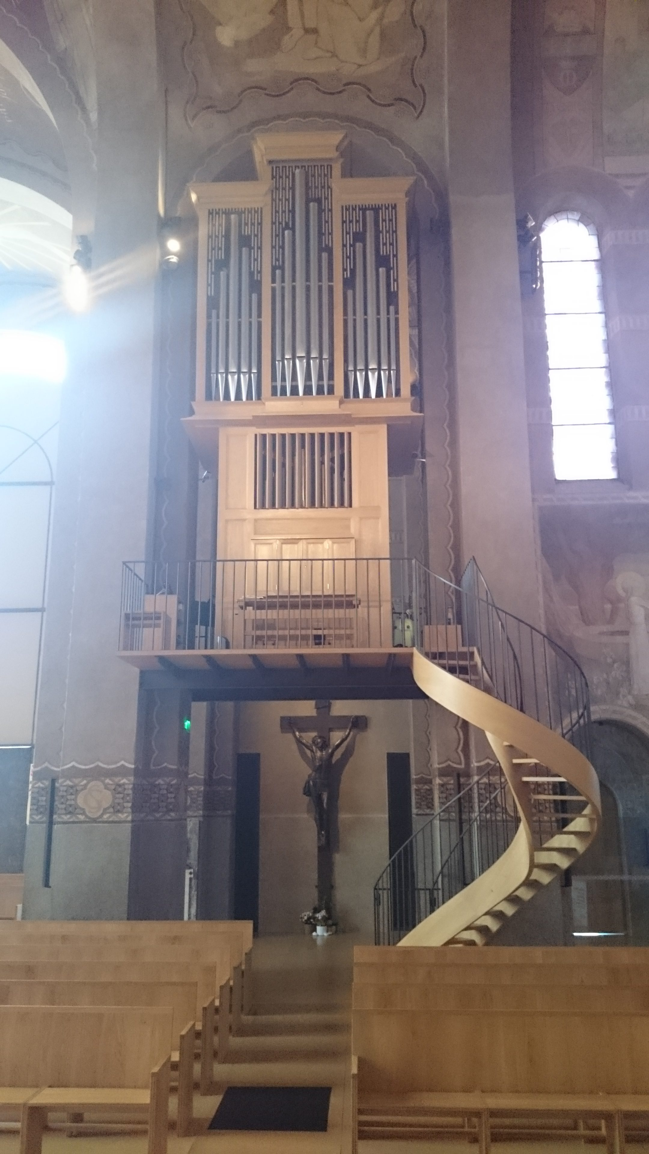 Orgue de la Cathédrale de Nanterre Concert Willy Ippolito