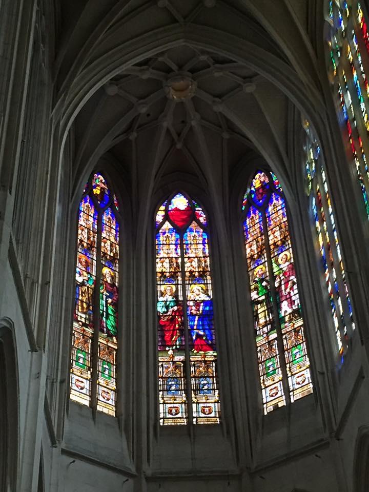 Intérieur de l'église de Saint Gervais à Paris
